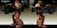 Dawn of War Warhammer 40k Character. 3D model and texturing Heikki Anttila. 2004