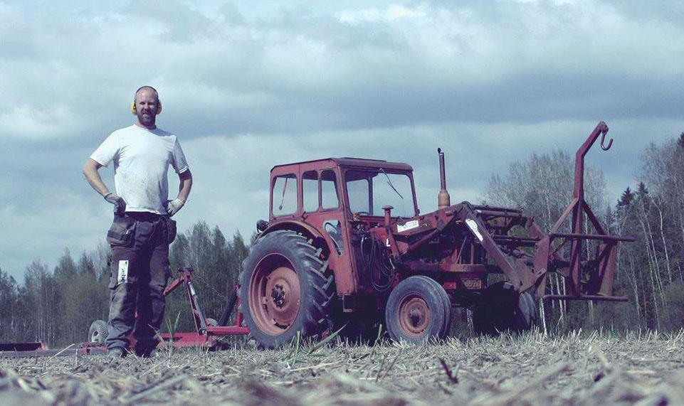 Heikki ANttila and Volvo BM